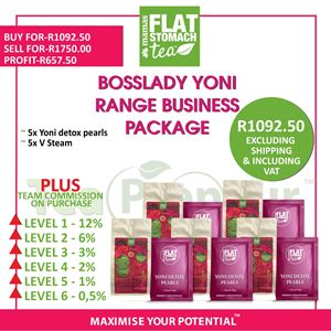 Boss Lady Yoni Range Business Package