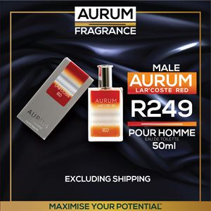 Aurum Lar'Coste Red Fragrance ( Pour Homme)