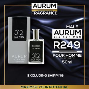 Aurum 312 For Men ( Pour Homme)