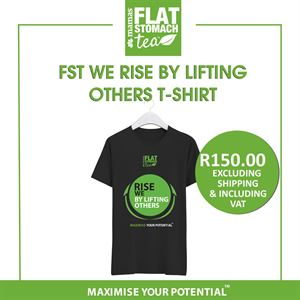 FST - We Rise by Lifting Others (with green stamp) T-Shirt