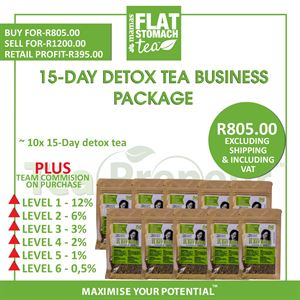 15-Day Detox Tea Business Package