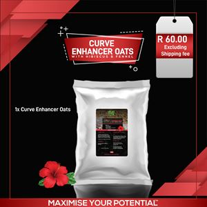 Curve Enhancer Oats with Hibiscus and Fennel