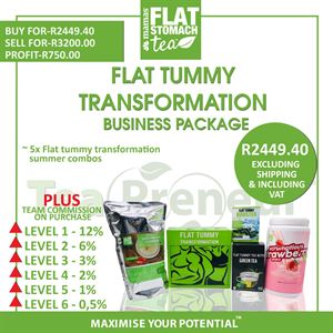 Flat Tummy Transformation Summer Business Package