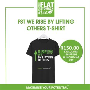 FST -We Rise By Lifting Others (with arrow sign) T- Shirt