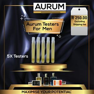 Aurum Fragrance Testers For Men