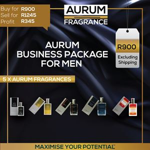 Aurum Fragrance Business Package For Men