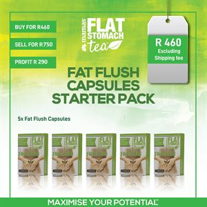 Fat Flush Capsules Starter Pack
