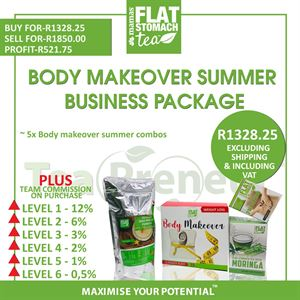 Body Makeover Summer Business Package