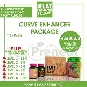 Mama's Flat Tummy Curve Enhancer Business Package