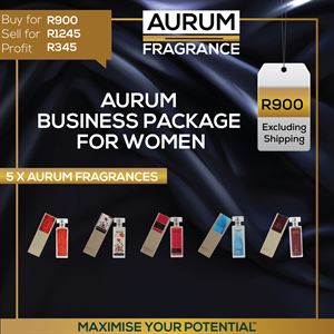 Aurum Fragrance Business Package For Women