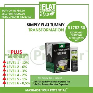 Simply Flat Tummy Transformation - Bulk